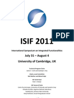 ISIF 2011 book