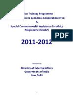 ITEC Brochure 2011-2012