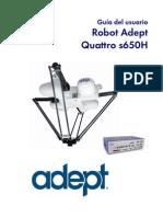 User guide_Robô DELTA s650 Adept ESPAÑOL