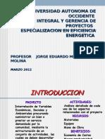 Evaluacion Integral y Gerencia de Proyectos
