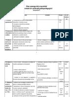 Plan Managerial Sem Est Rial Cabinet Psihopedagogic