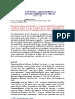 Analise Da Rendibilidade e Precos Habitacao
