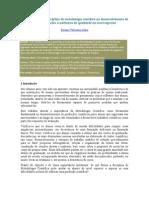 A importância da disciplina de metodologia científica no desenvolvimento de produções acadêmicas de qualidade no nível superior