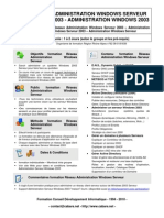 Formation Reseau Administration Windows Serveur
