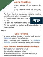 SDM-Mgt of Sales Territories