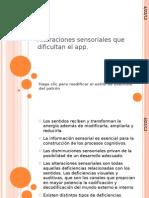 Alteraciones Sensoriales Que Dificultan El App