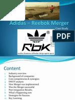 Adidas _ Reebok Merger