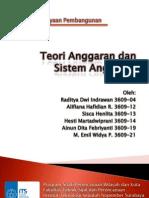 Teori Anggaran dan Sistem Anggaran