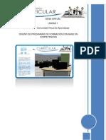 Material Des Car Gable Procedimiento de Programas de Formacion