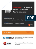 Skyjacking a Cisco WLAN Attack Analysis and Countermeasures