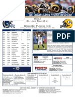 Week 6 - Rams at Packers