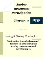 2.Saving Conduct- Investment and Participation
