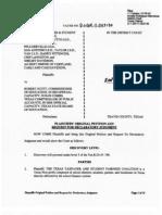 School Finance Lawsuit
