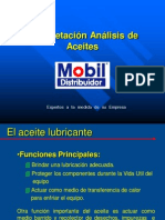 Interpretacion de Analisis de Aceite