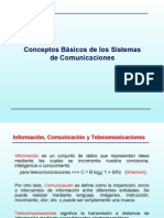 Conceptos Basicos de Los Sistemas de Comunicaciones