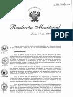 RM312-2011-MINSA Protocolos de Salud