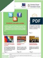 Boletín Número 5  del Instituto Interuniversitario de Desarrollo Social y Paz  de la Universitat Jaume I de Castellón y Universidad de Alicante, España