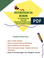 Nutrition in Burns