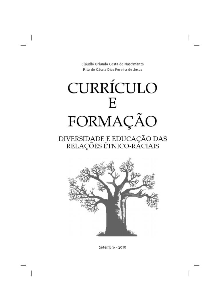 Livro Curriculo e Formacao 8a362f8912
