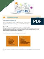 Nederlands 3. Poëzie in de Sint Jan