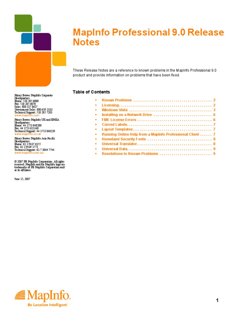 mapinfo professional 8.0 startimes