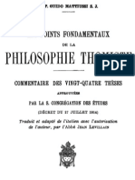 Les points fondamentaux de la philosophie thomiste