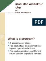 2-Instruction Set Architecture