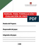 Manual Para La ion de Proyectos