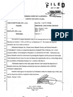 2011 10 07 Order Re Discovery Motion & Deposition of Tibco Software CEO Vivek Ranadive