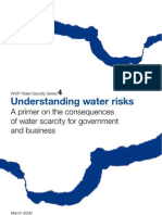 Understanding Water Risk