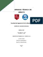 Modulo Ntics II FICM (Marzo-septiembre 2011)