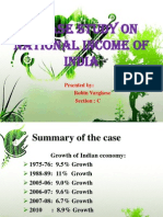 A CASE STUDY on National Income