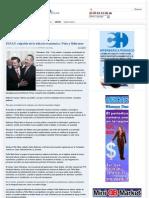 11-10-11 El Pan, culpable de la debacle economica Peña y Beltrones