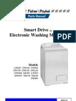 "Parts Manual Fisher & Paykell ""Smart Drive"" Electronic Washing Machine"