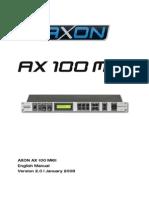 Axon Ax 100 Mkii Manual en 2.0