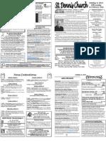 October 9 Bulletin