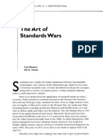The Art of Standards Wars