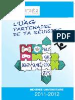 L'UAG partenaire de ta réussite 2011-2012
