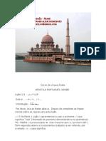 Apostila Curso de Língua Árabe Parte 1