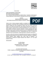 Carta aberta Seminário-Taller PY