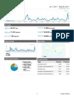Analytics PERUBATAN Online 2011Q3