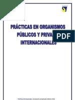 Practicas en Organismos Publicos y Privados Internacionales[1]