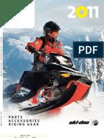 SkiDoo Catalogue 2011 Inter