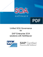 Uni SOA Governance for SAP