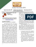 October 2011 TC School Newsletter