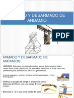 ARMADO DE ANDAMIOS