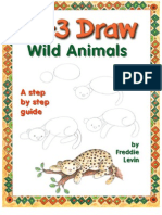 Steve Barr - 123 Draw Cartoon Wild Animals