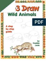 Steve Barr - 123 Draw Cartoon Wild Animals