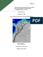 Geoquimica de Superficie Cauca Patia 2005