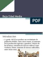 Baja Edad Media Disertacion